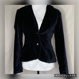 Free people 2 button black blazer